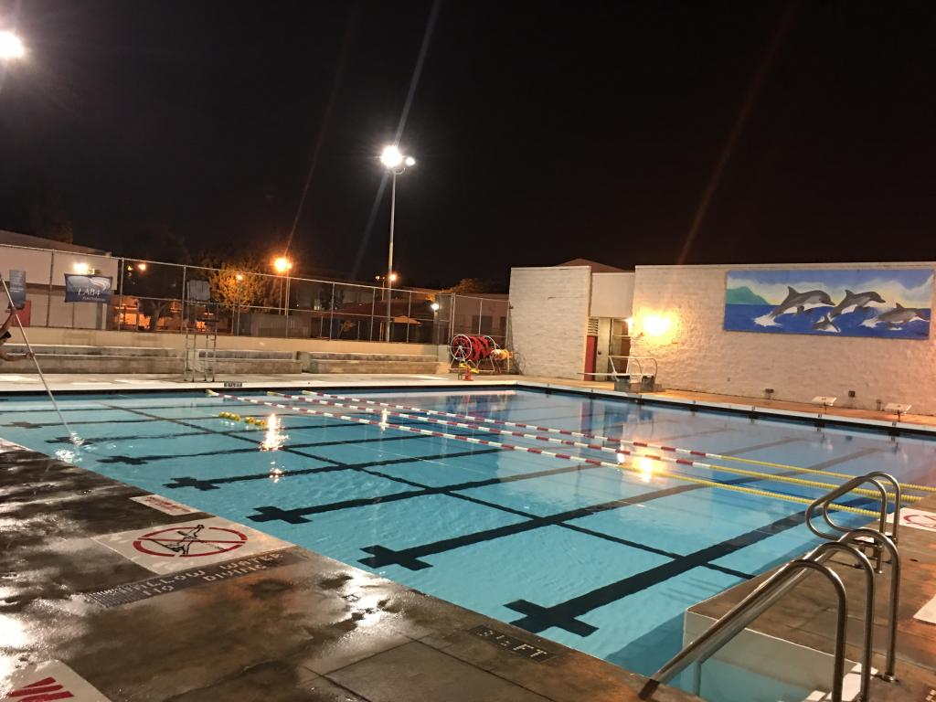 Banning Pool City Of Los Angeles Department Of