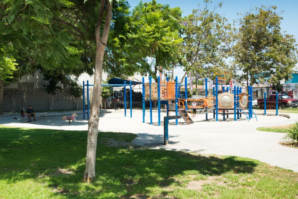 Pico Union Vest Pocket Park City Of Los Angeles