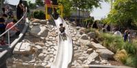 Patton Street Park Slide